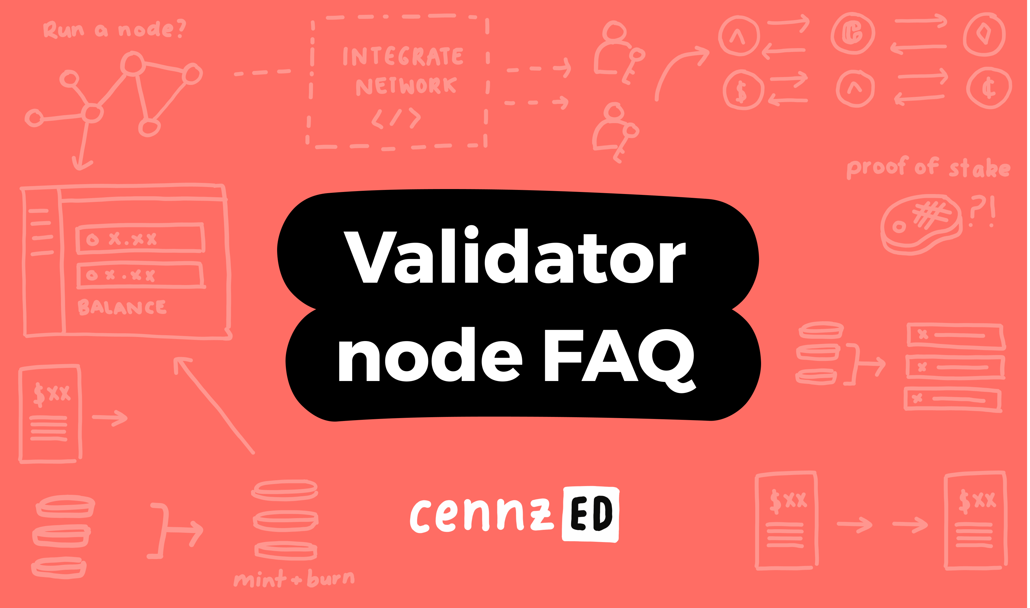 Validator node FAQ