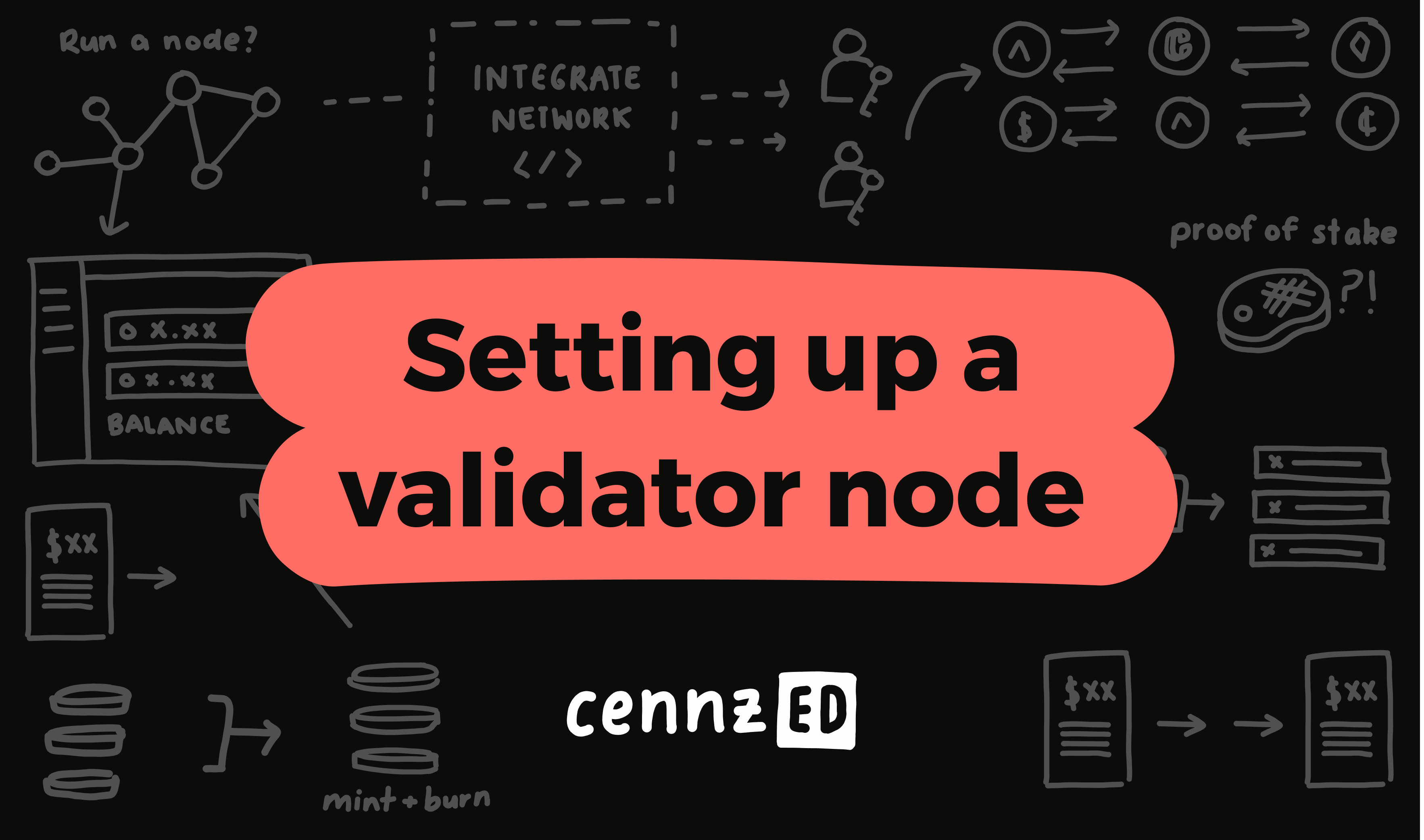 How to set up a validator node on CENNZnet