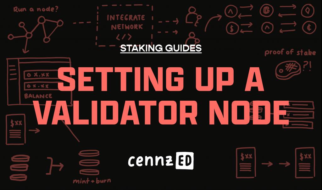 Setting up a validator node