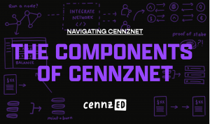 The components of CENNZnet